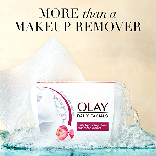 Olay Daily Facials Clean Makeup Remover Wipes