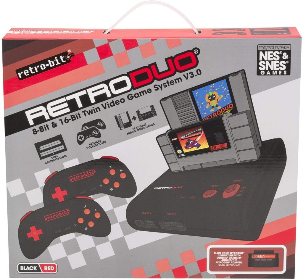 Retro-Bit Retro Duo Twin Video Game System NES