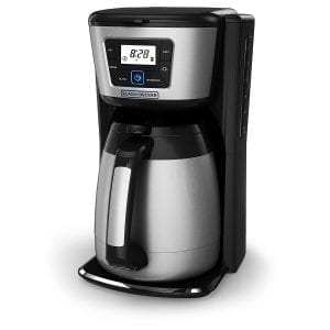 The Black Decker Thermal 12-Cup Coffee Maker
