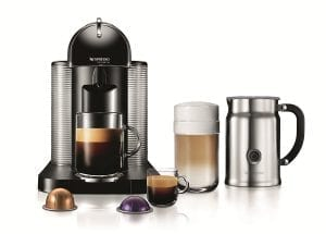The Nespresso VertuoLine Espresso and Coffee Maker
