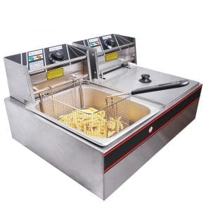 Yescom 12L Commercial Electric Deep Fryer