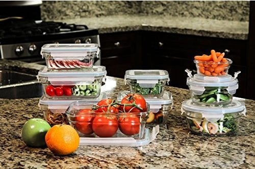 18-Piece 11292 Assorted Oven-Safe Container Set by Glasslock