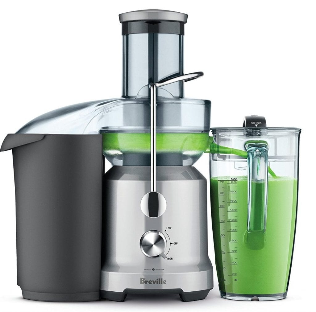 Breville BJE430SIL Juicer Machine