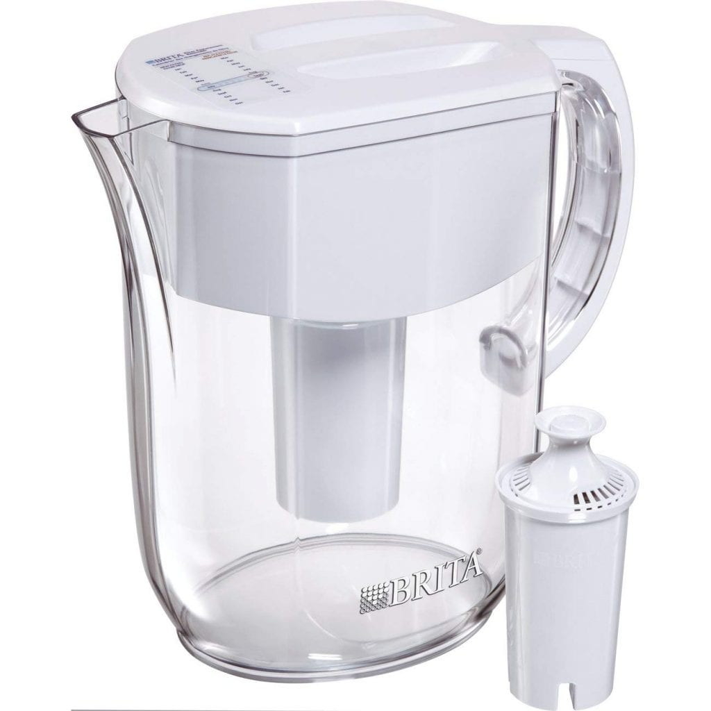 Brita Large 10 Cup Water Filter Pitcher with 1 Standard Filter