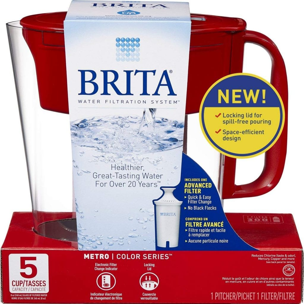 Brita Small 5 Cup Water Filter Pitcher