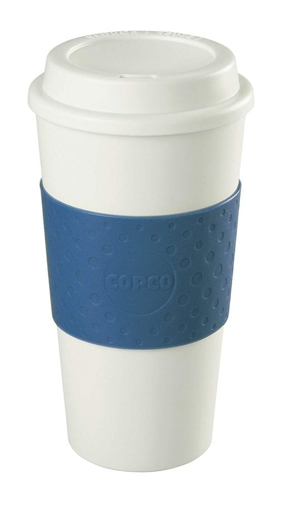 Copco Acadia 16-Ounce Travel Mug, Blue