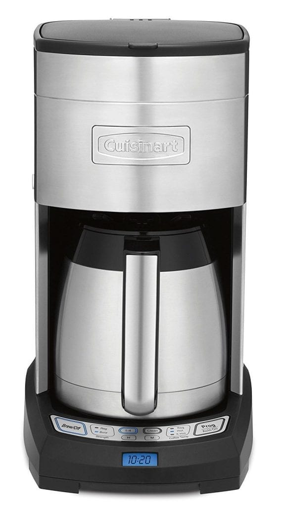 Cuisinart Amazon Exclusive DCC-3750 Elite Stainless Steel 10-Cup Thermal Coffeemaker