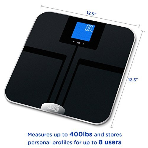 EatSmart Precisions GetFit Digital Body Fats Scale