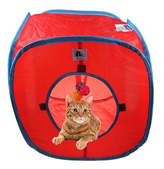 Flexible Pop out Cat Kitty Play Cube
