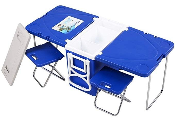 Giantex Multi-functional Cooler Table