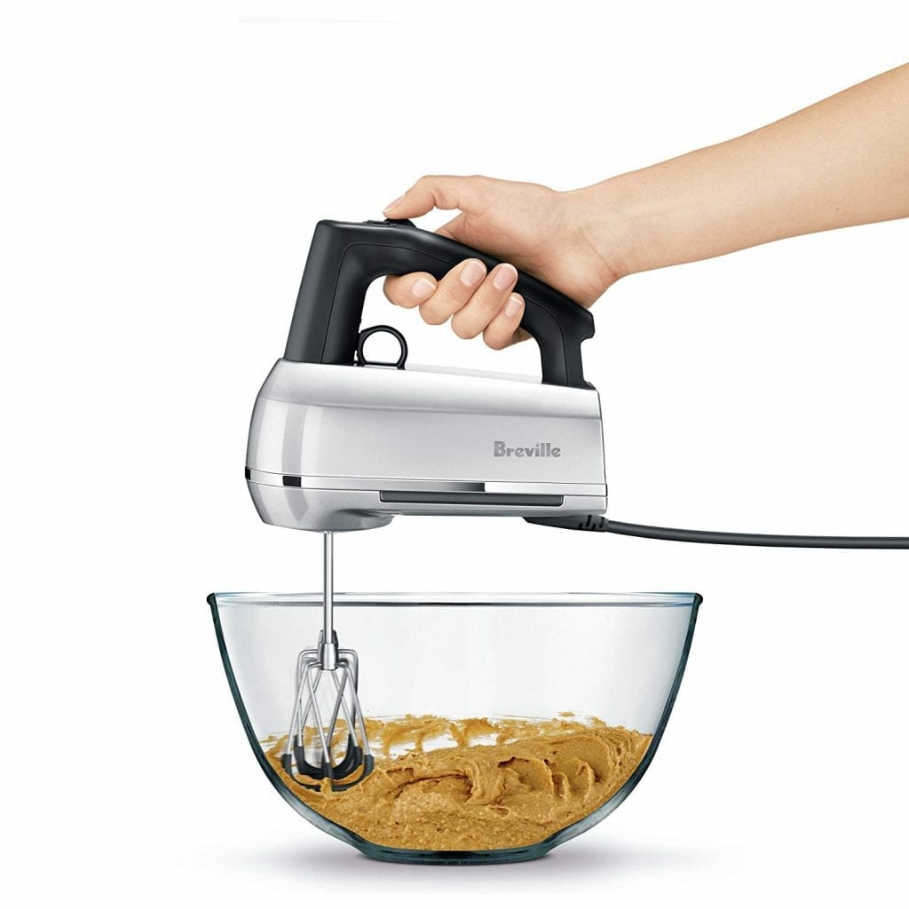Handy Mix Scraper BHM800SIL Hand Mixer, Silver From Breville