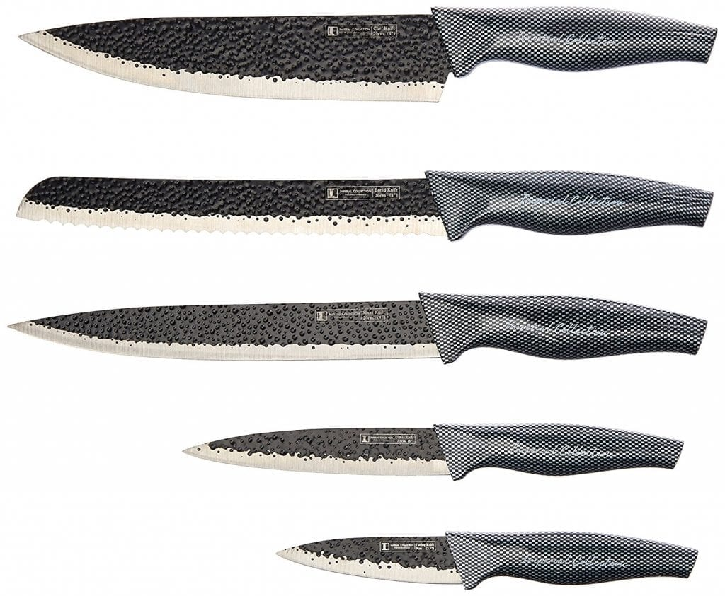 Imperial Collection Stainless Steel Kitchen Knife Set, IM-MGN5-CB