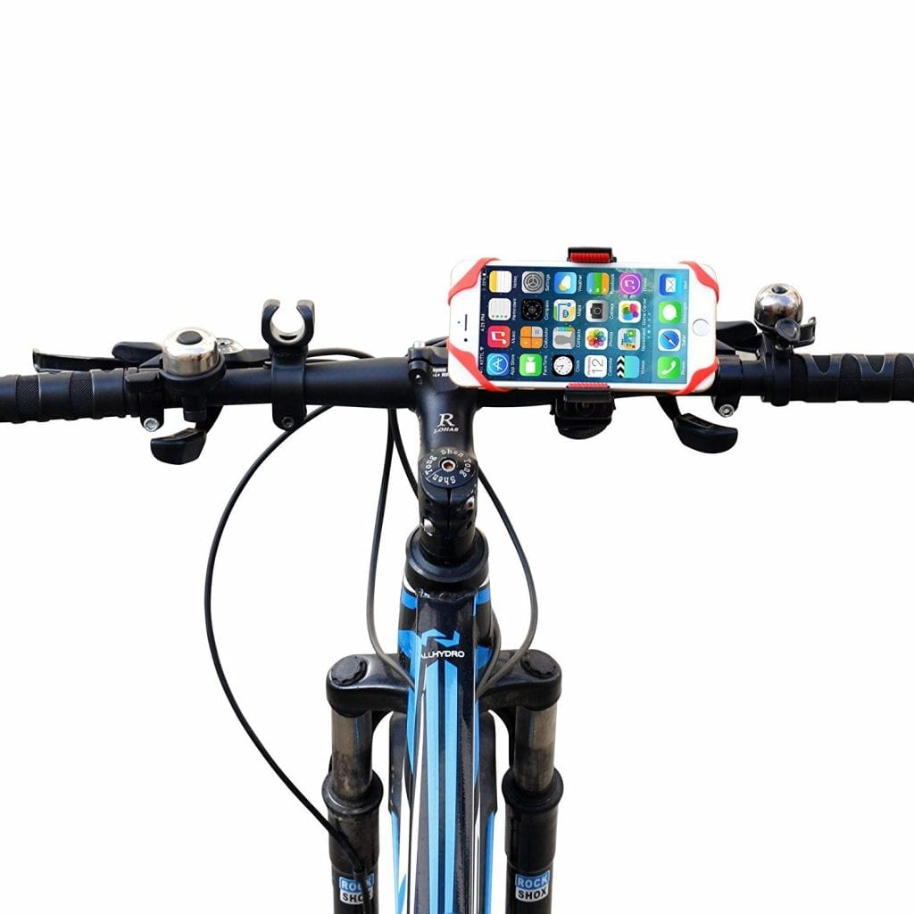Ipow Universal Bike Mount Motorcycle Cell Phone Holder