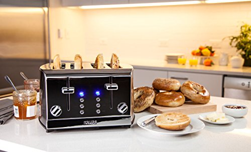 KRUPS KH734D Breakfast Set 4-Slot Toaster: