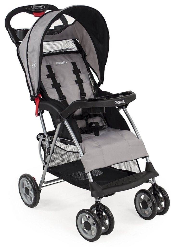 Kolcraft Cloud Plus 5-Point Harness Safety System Baby Stroller