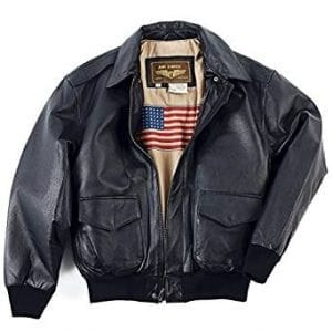 Landing Leathers Men's Air Force A-2 Leather Jacket