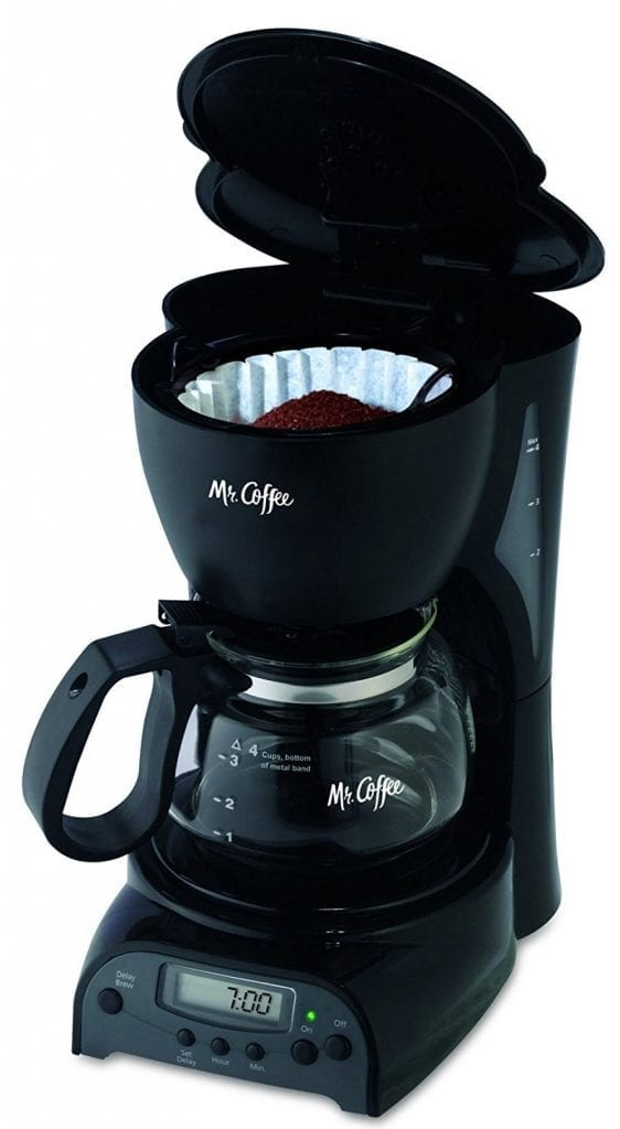 Mr. Coffee Programmable 4-Cup Coffee Maker