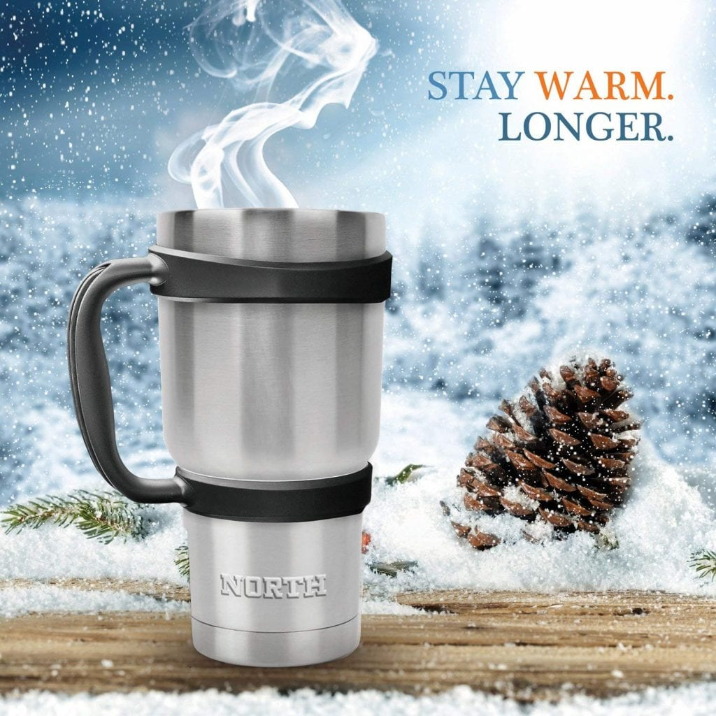 North Stainless Steel 30 Oz Travel Mug from Sensible Needs