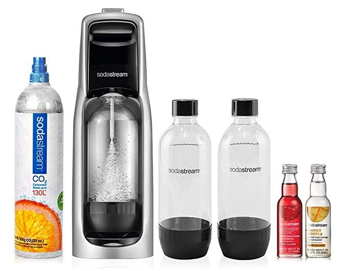 SodaStream Jet Sparkling Water Maker Bundle Kit