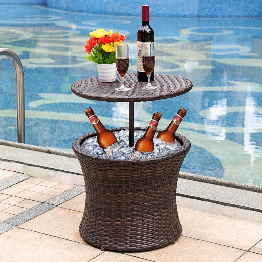 Sundale Outdoor Cooler Table