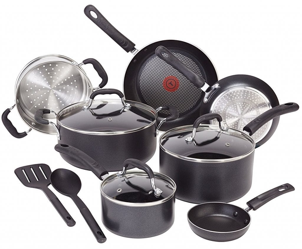 T-fal C515SC Nonstick 12-Piece Cookware Set