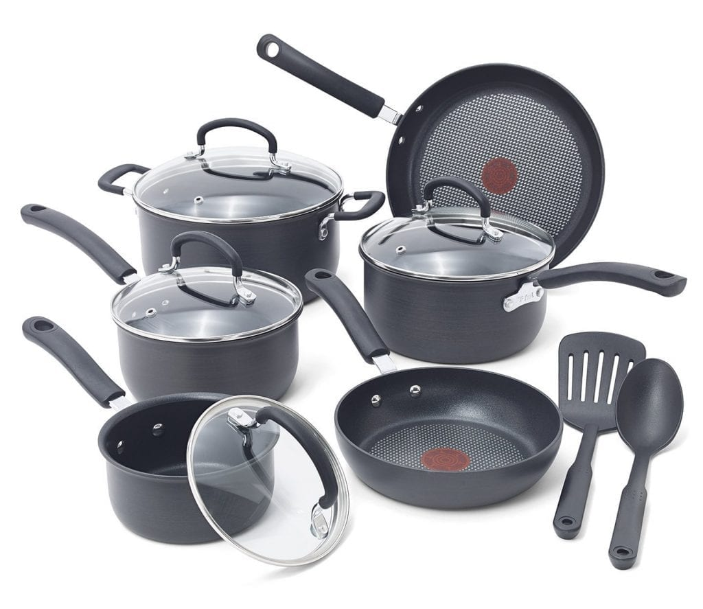 T-fal E765SC 12 piece cookware set