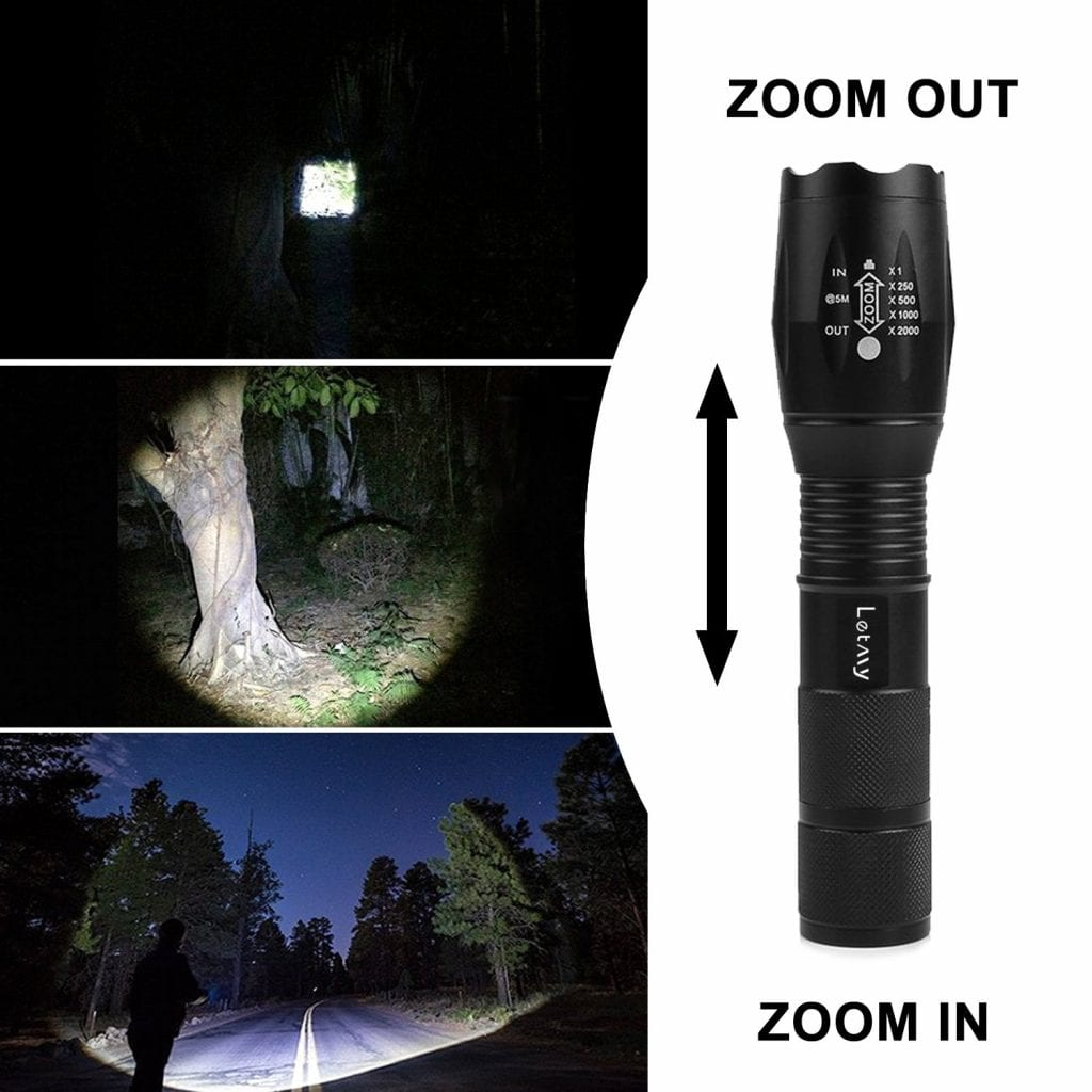 Tactical Flashlight 2 Pack