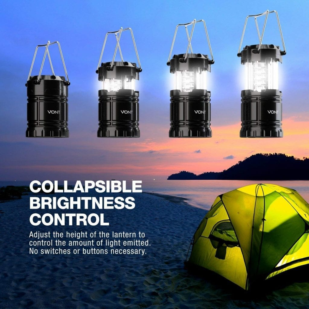 Vont Bright Portable Camping Outdoor LED Lantern