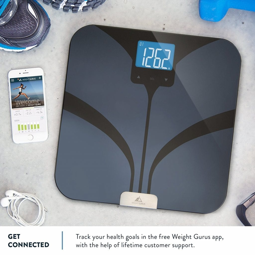 Weight Gurus Bluetooth Body Fat Scale