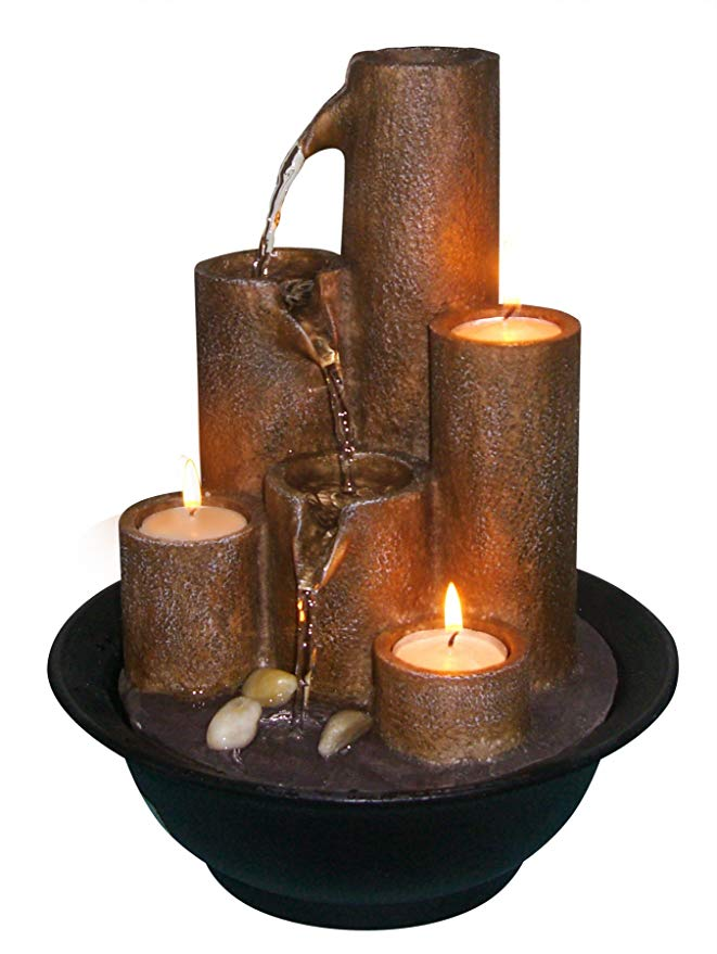 The Alpine WCT202 Tabletop Fountain