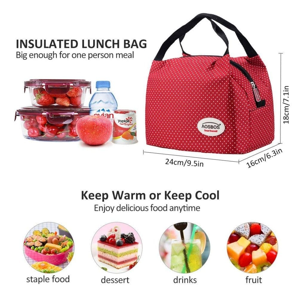 Aosbos Lunch Tote