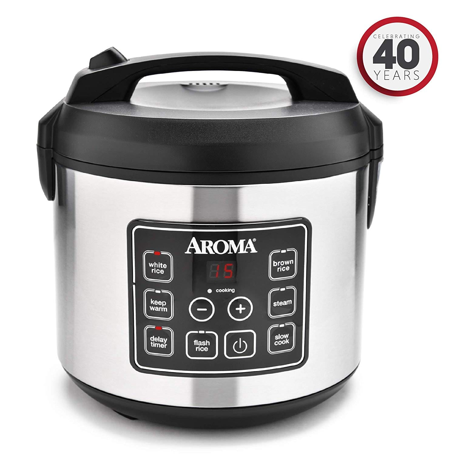 Aroma Housewares 20 Cup Cooked (10 cup uncooked)