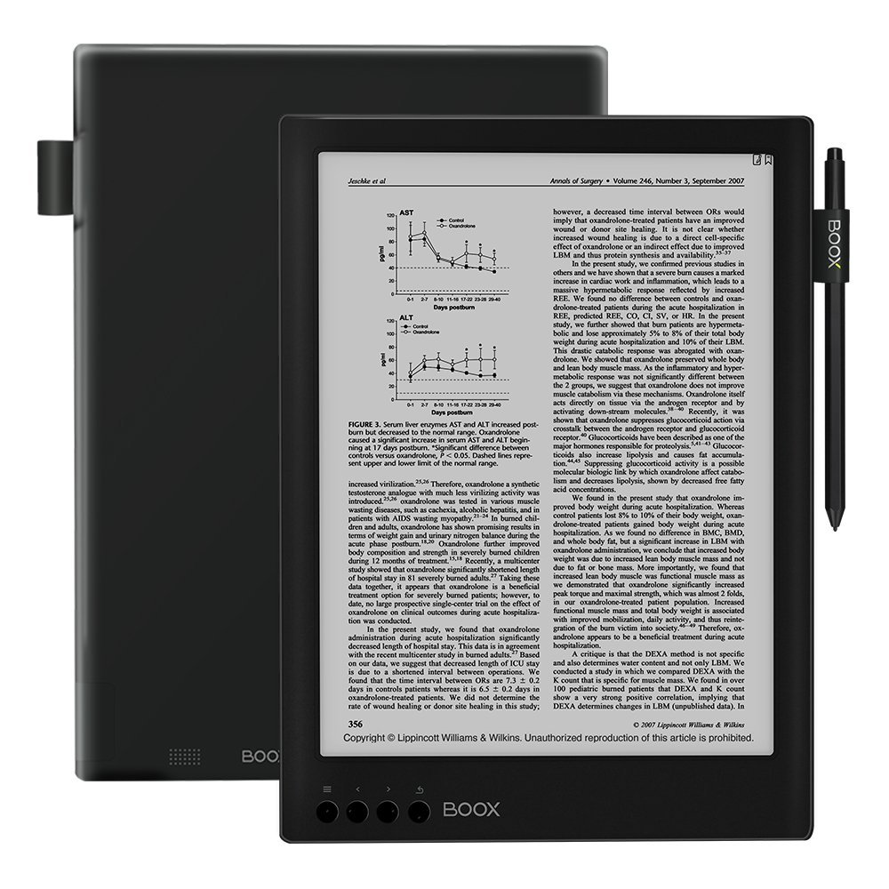 BOOX Max2 Reader, Android 6.0 32 GB with HDMI Interface, 13.3inch; Dual-Touch HD Display