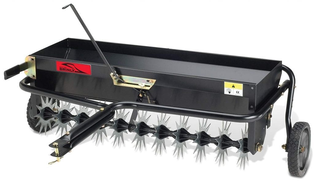 Breinly AS-40BH Tow Behind Combination Aerator-Spreader