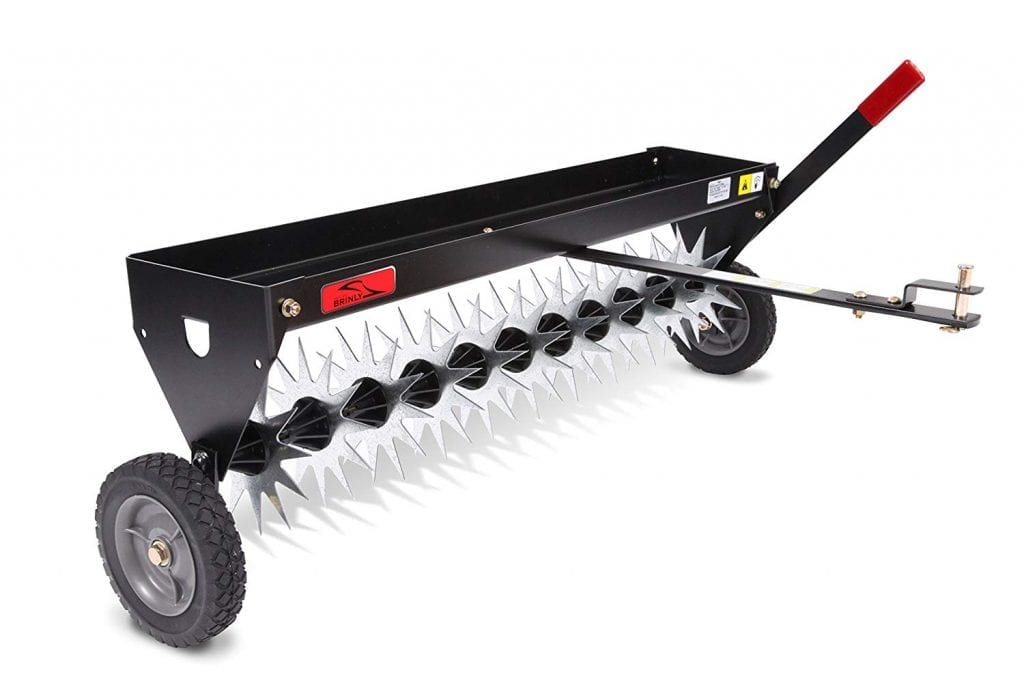 Brinly SAT-40BH Tow-Behind Spike Aerator