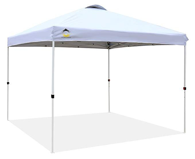 Crown Shades Patented Outdoor Pop Up Canopy Tent