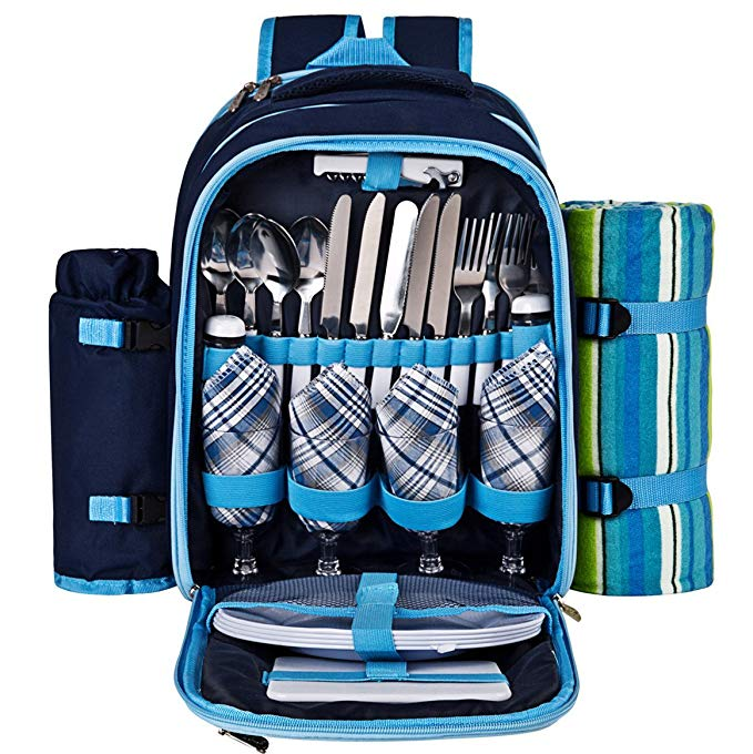 Ferlin Picnic Backpack (Blue)