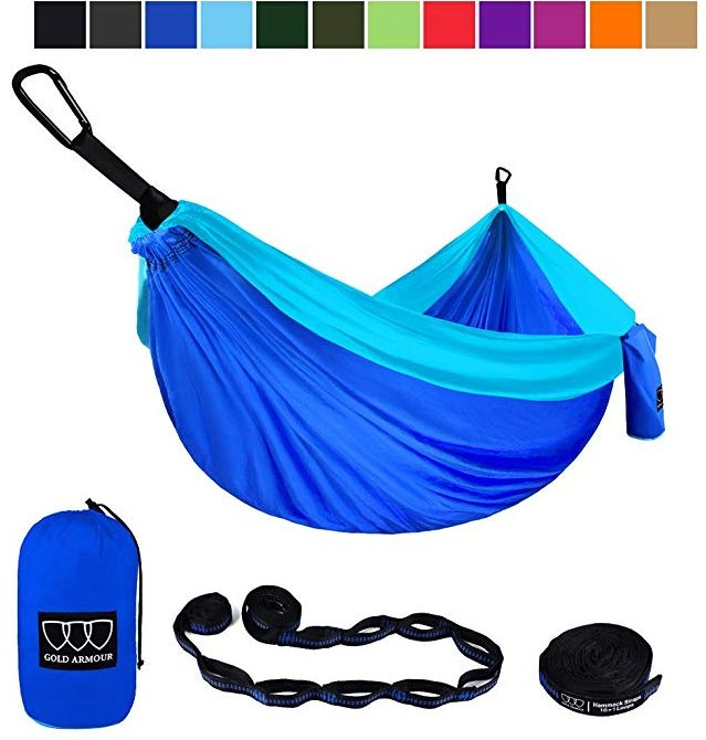 Gold Armour Camping Double Hammock