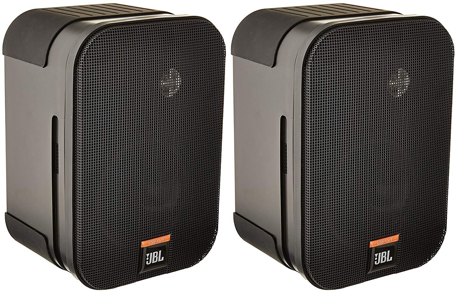 JBL CSS-1S T Two-Way Compact Ohm Black Loudspeaker (Sold As a Pair)