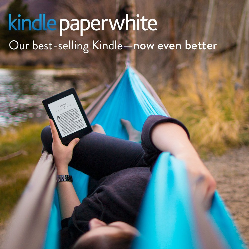 Kindle Paperwhite, 6-inch; High-Resolution 300 ppi Display with Built-in Light, Wi-Fi