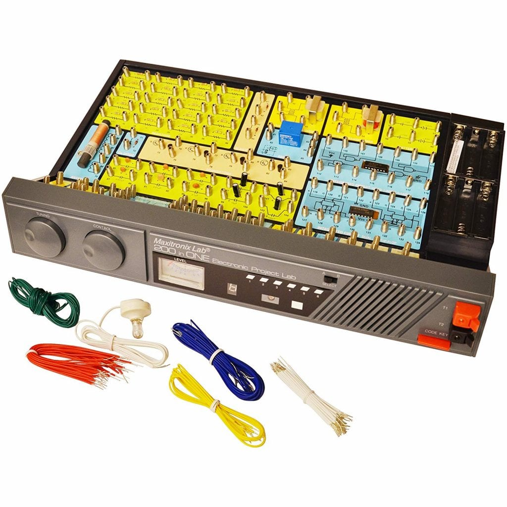 Maxitronix 200-in-One Electronic Project Lab