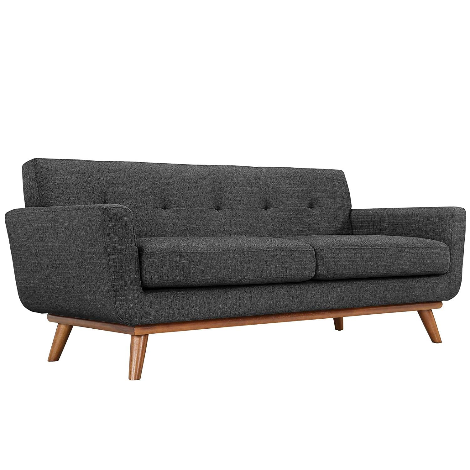 Modway Empress Modern Mid-Century Upholstered Leather