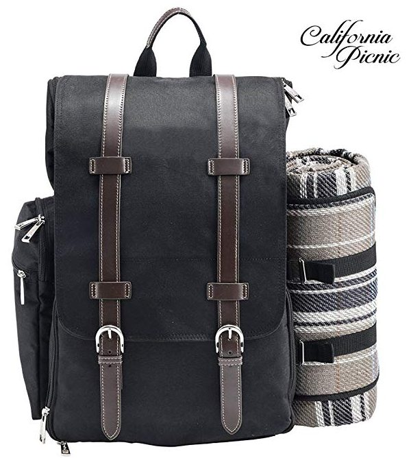 All-in-One Stylish Picnic Backpack from CALIFORNIA PICNIC