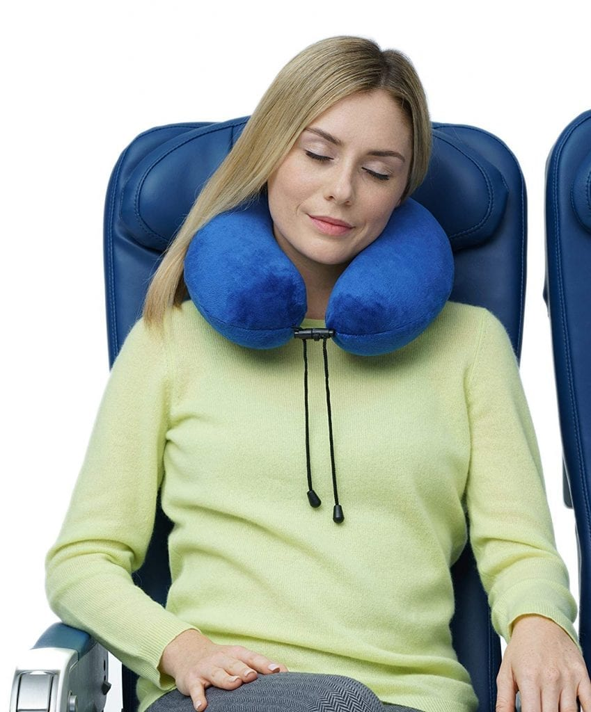 Travelrest - Therapeutic Memory Foam Travel & Neck Pillow