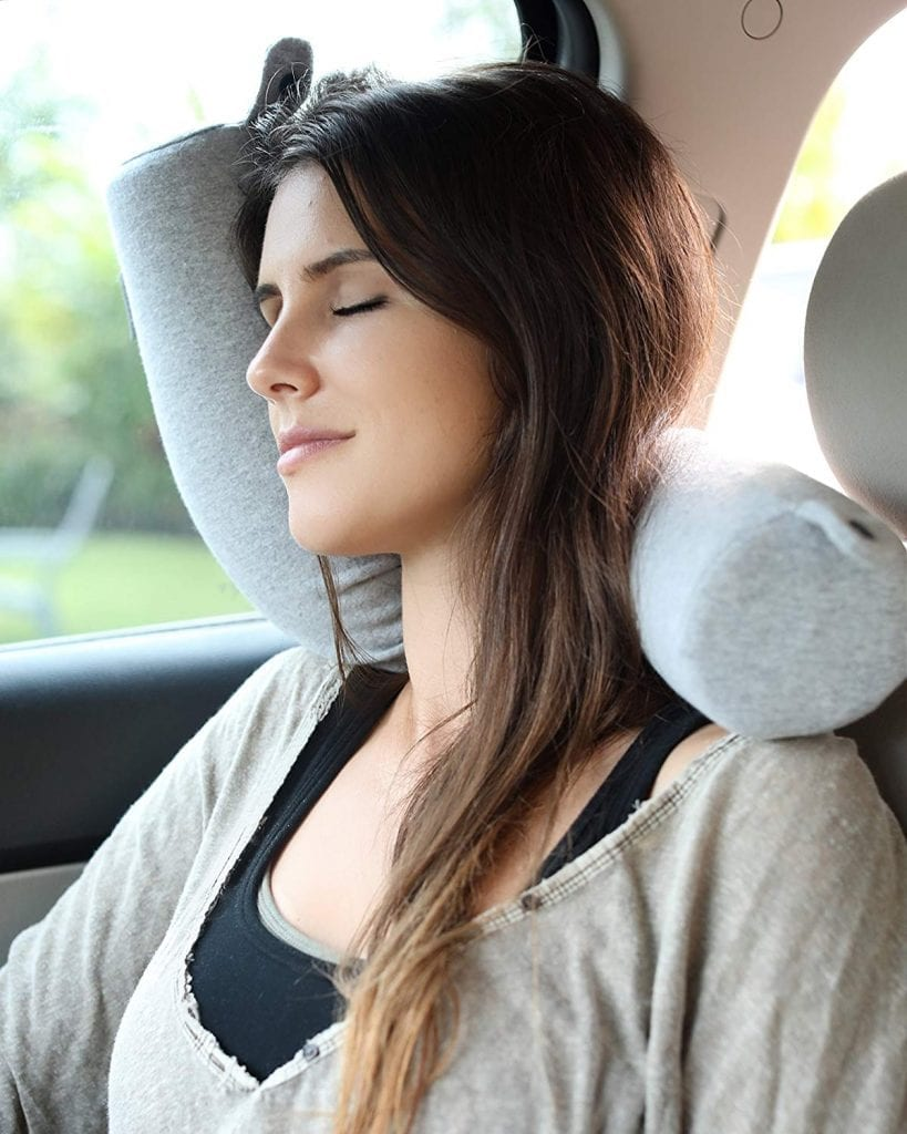 Twist Memory Foam Travel Pillow for Neck