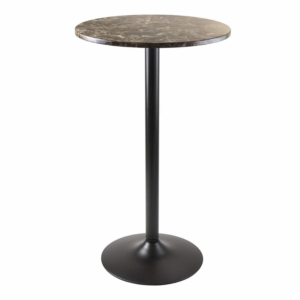 Winsome Wood Cora Round Bar Height Pub table