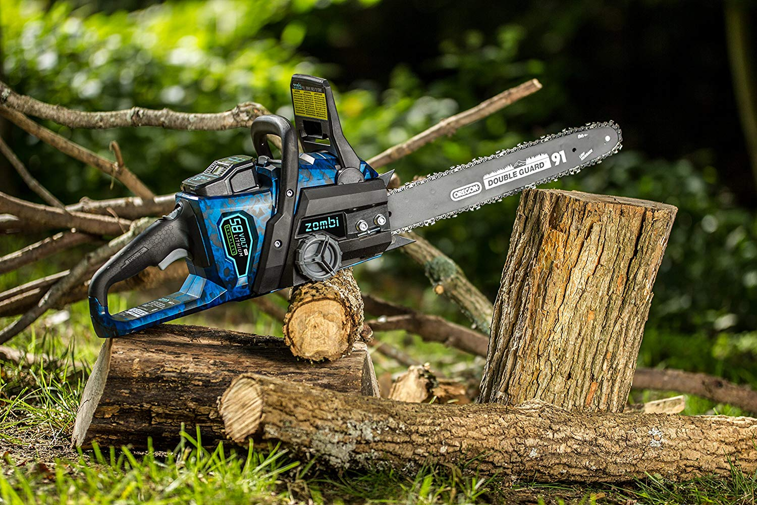 Zombi ZCS5817 Cordless Electric Chainsaw