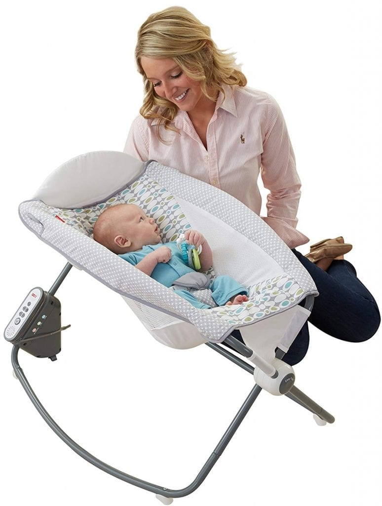 Fisher-Price Aqua Stone Auto Rock n Play Sleeper