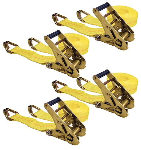Keeper-Ratchet-Straps With J-Hooks