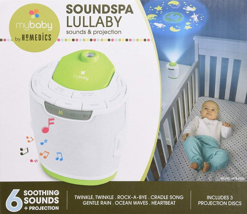 MyBaby, SoundSpa Lullaby Sound Machine & Projector